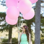 """ลูกโป่งกลม สีชมพู ไซส์ 18 นิ้ว จำนวน 1 ใบ (Round Balloon - Standard Pink Color 16"""")"""