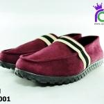 รองเท้า BINSIN รุ่นKM2001 สีเลือดหมู เบอร์ 40-44