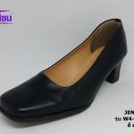 JENEX เจเน๊กซ์ รหัส W4-68104 สีดำ เบอร์ 36-41