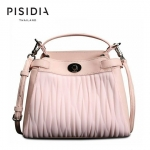 กระเป๋าแบรนด์เนม PISIDIA รุ่น AREZZO สีชมพู (ส่งฟรี EMS)