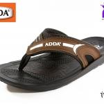 รองเท้าแตะหนัง ADDA แอดด๊า รหัส 72B07 สีน้ำตาล เบอร์ 39-43