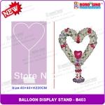 เสาลูกโป่ง ทรงหัวใจ - Balloon Stand Heart shape
