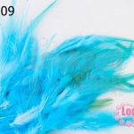 ขนนก(ก้าน) สีฟ้าอ่อน ( 20 ชิ้น)