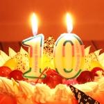 เทียนวันเกิดตัวเลข Happy Birthday (เลข 0-9) กรุณาระบุตัวเลขที่ต้องการเมื่อทำการสั่งซื้อด้วยนะคะ / Item No.TL-N008