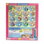 เกมการศึกษา handtoy Magnet Box Kid Animal (5107) | สินค้าหมด
