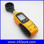 DWS017: เครื่องวัดความเร็วลม เครื่องวัดลม มิเตอร์วัดความเร็วลม LCD Pocket Digital Anemometer Wind Speed Measure & Thermometer