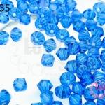 คริสตัลสวารอฟสกี้ (SWAROVSKI) สีน้ำเงิน(243) 4มิล(100เม็ด)