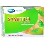 Mega We Care Sametto เมก้า วี แคร์ ซาเมทโต้ 30 เม็ด รักษาต่อมลูกหมากโต