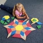 ของเล่นเสริมพัฒนาการ Giant Foam Floor Pattern Blocks