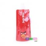 ถุงน้ำแฟชั่นแบบพกพา Red Angry Birds : สีแดง PA0011