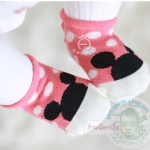 ถุงเท้ากันลื่นไซส์ 10-12,12-14 ซม. MSH40