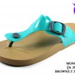 รองเท้าแตะ Monobo โมโนโบ้ รุ่น Jello เจลโล่ สีฟ้าทะเล เบอร์ 5-8