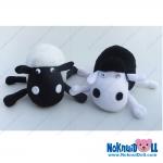 ตุ๊กตา แกะขาอ่อน Little Sheep ผ้าขนหนู เล็กพิเศษ-ยาว9.5นิ้ว