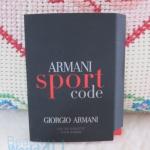 น้ำหอม armani code sport 1.5 ml. (ขนาดทดลอง)