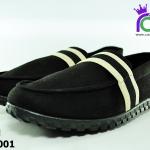 รองเท้า BINSIN รุ่นKM2001 สีดำ เบอร์ 40-44