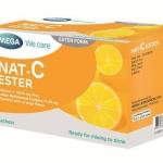 NAT-C ESTER วิตามินซีผง 30ซอง ละลายน้ำ [MEGA] (VIT C 100MG )