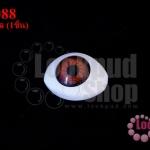ลูกตาปลอมนัยตาสีน้ำตาล 15X21มิล (1ชิ้น)