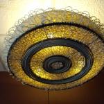 โคมไฟหวายแบบแขวนเพดาน Rattan Ceiling Lamp (RCL005)