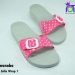 รองเท้าแตะ Monobo Jello โมโนโบ้ รุ่น Jello Wrapl 1 สวม สีบานเย็น เบอร์ 5-8