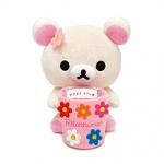 [สินค้าหมด] ที่วางมือถือ San-X Rilakkuma MK-24901 หมีขาว