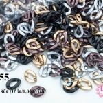 ห่วงพลาสติก คละสี 13X18มิล (1กิโล/1,000กรัม)