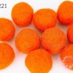 ลูกบอล Feit 25มิล #1 สีส้ม (5ลูก)