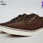รองเท้าผ้าใบชายสปอร์ต Y.BOKAI รุ่นBOK-668 สีน้ำตาล เบอร์41-45
