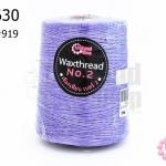 เชือกเทียน ตราLookpudshop(ม้วนใหญ่) สีม่วง เบอร์ 2 #919 (1ม้วน)