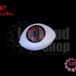 ลูกตาปลอมนัยตาสีน้ำตาล 16X23มิล (1ชิ้น)