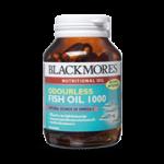 Blackmores Odourless Fish Oil 60 แคปซูล ลดไขมันในเลือดโดยเฉพาะไขมันจำพวกไตรกรีเซอไรด์