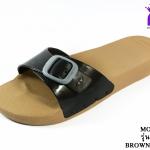 รองเท้าแตะ Monobo Jello โมโนโบ้ รุ่น เจลโล่ สวม สีดำ เบอร์ 5-8