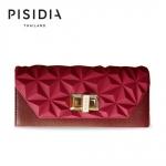 กระเป๋าแบรนด์เนม PISIDIA รุ่น SEVILLA สีแดงเข้ม (ส่งฟรี EMS)