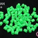 เม็ดบีทรีดร้อน สีเขียวอ่อน 5 มิล (1ขีด/100กรัม)