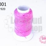 เชือกเทียน ตราลูกบอล(ม้วนเล็ก) สีชมพูอ่อน 920 (1ม้วน)