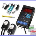 เครื่องวัดค่ากรดด่าง มีเอาพุทรีเลย์ ควบคุมการทำงานปั๊มได้ pH ORP Controller Monitor Meter 2 Socket Tester ±1999mV (สินค้าPre Order)