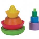 ของเล่นไม้ ของเล่นเด็ก ของเล่นเสริมพัฒนาการ Cone Sorting
