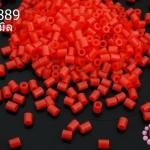 เม็ดบีทรีดร้อน สีแดง 2.5มิล (1ขีด/100กรัม)