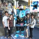 มาสคอทตุ๊กตา (สวมใส่คน) ช้าง อบต.พิษณุโลก 2556