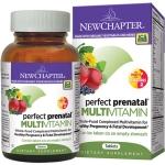 วิตามินเตรียมความพร้อม (ออร์แกนิค) สำหรับว่าที่คุณแม่ New Chapter Perfect Prenatal Multivitamin (192 เม็ด)