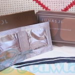 Lunasol skinfusing powder foundation + smoothing makeup base # oc-02 (ขนาดทดลอง)