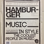 HAMBURGER ฉบับ 161 ครบรอบ 10 ปี บรรจุอยู่ในซองกระดาษที่ทำขึ้นเป็นพิเศษ