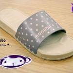 รองเท้าแตะ Monobo Jello โมโนโบ้ รุ่น Twist Low 2 สวม สีเบส เบอร์ 5-8