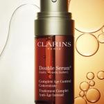 CLARINS Double Serum [Hydric + Lipic] Complete Age Control 30ml (ขนาดจริงลดพิเศษ 35%)