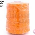 เชือกเทียน ตราLookpudshop(ม้วนใหญ่) สีส้ม เบอร์ 2 #915 (1ม้วน)