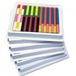ของเล่นเด็ก ของเล่นเสริมพัฒนาการ Cuisenaire Rods Multi-Pack: Plastic Rods (ส่งฟรี)