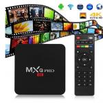 MXQ Pro Smart Box Android 5.1 Amlogic S905 4K Quad Core 64bit 1GB/8GB by Egreat (สีดำ) ดูบอล ดูหนัง ดูซีรีย์ ไม่ต้องติดจาน