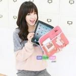 กระเป๋าเอนกประสงค์ใส่ iPad : สีชมพู PA0023