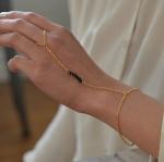 DiY Idea:สร้อยข้อมือสไตล์คลาสสิค Delicate hane chain