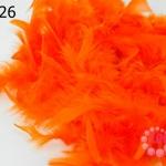 ขนนกเฟอร์ สีส้ม (1เส้น)