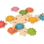 ของเล่นไม้ ของเล่นเด็ก ของเล่นเสริมพัฒนาการ Gears & Puzzles – Deluxe (ส่งฟรี)